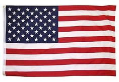 OTLIVE 3x5 ft Home Garden Flags Printed Starts and Stripes American Flag Polyester Flag IndoorOutdoor -- Click image to review more details.