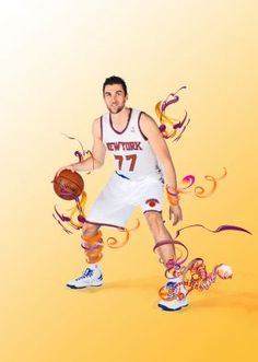 Andrea Bargnani ... young Italian basketball player nba