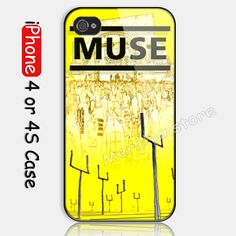 Muse Band Custom iPhone 4 or 4S Case Cover