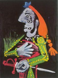 Pablo Picasso. Buste de matador 1. 1970 year