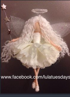 Angel fairy... see my page and shop⭐️ www.facebook.com/lulatuesdays Www.lulatuesdays.etsy.com