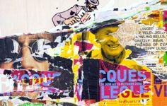 Exposition Villeglé Double Exposition, Art And Illustration, Illustrations, Nouveau Realisme, Pop Art, Street Art, Rue, Collages, Poster