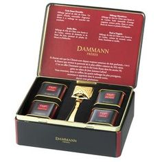 The Tea Gastronomer: Dammann Freres Tea Sampler ~ received as a gift and fell in love with them.