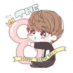 Printable Stickers, Cute Stickers, Doodle Name, Fanart Kpop, Seventeen Minghao, Astro Wallpaper, Seventeen Wallpapers, Call Art, Anime Chibi