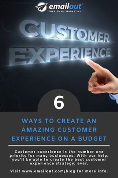 Customer experience is a number one priority for many businesses. With our help, you'll be able to create the best customer experience strategy, ever. Strategy Business, Business Advice, Free Email Marketing, Digital Marketing, New Market, Customer Experience, Step Guide, Priorities, Number One