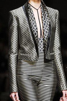 Haider Ackermann Spring 2013 Ready-to-Wear Detail - Haider Ackermann Ready-to-Wear Collection Fashion Over 50, Grey Fashion, Spring Fashion, High Fashion, Fashion Outfits, Womens Fashion, Paris Fashion, Swag Fashion, Dope Fashion