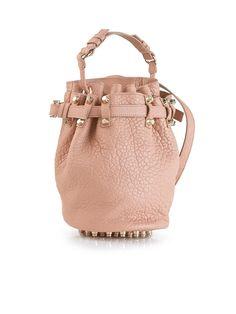 ALEXANDER WANG Small Diego Leather Bucket Bag
