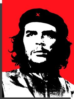 che pop art print on canvas