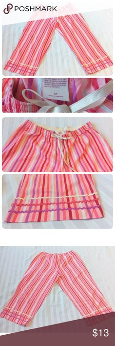 🎀xhilaration SLEEPWEAR PAJAMA BOTTOMS Pants🎀 🎀Beautiful xhilaration SLEEPWEAR WOMEN'S PAJAMA BOTTOMS Lounge pants in excellent conditions! No holes or stains. Worn very little. Multicolor striped. Made in Cambodia.  SIZE M Medium 100% Cotton  Measurements: Waist 27 inches (unstretched) All-around  Rise 9 inches Inseam length 22 inches Pant Length 30.5 inches ☺️🎀💕 Xhilaration Intimates & Sleepwear Pajamas