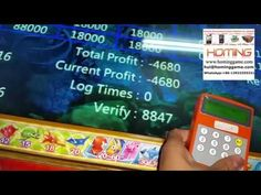 Ocean king 2 fishing game machine add the code box to imput the active c...