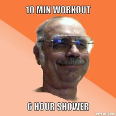 It's that 1 old guy at your gym Bodybuilding Memes, Natural Bodybuilding, Bodybuilding Motivation, Gym Memes, Gym Humor, Lifting Memes, 10 Min Workout, Workouts, Gym Lockers