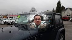 Pinterest friends I just hit 500 subscribers on YouTube. Please help me on my way to 600. Here is my Channel: https://www.youtube.com/WayneUlery 2008 Jeep Wrangler for Skylar by Wayne Ulery.  I strive to treat all of my customers like family!  Please feel free to connect with my on social media.   #Jeep #Wrangler  Vehicle availability and pricing: http://wyn.me/p8159Jeep             Here are a few of my Jeep customers:                           Donny takes home a 2014 Jeep Wrangler Sahara…