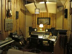 Jeff Hill's private production room at Studio G, Brooklyn, NY