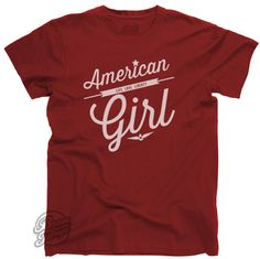 American Girl tee from Bravo Tango.  Would look awesome with a great pair of jeans.