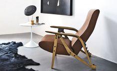 Gilda Lounge Chair 888 by Carlo Mollino for Zanotta