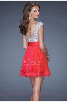 Red Homecoming Dress  Short dresses