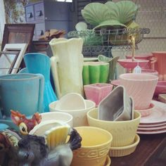 Photo by vintageandbeautiful. ~ we have been organizing!