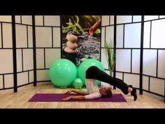 Pilates Serie 5 Abdominales y Estiramiento de la Espalda Nivel Intermedio - YouTube