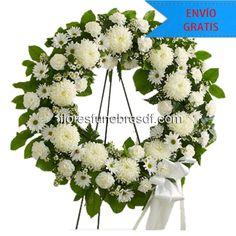 Arreglos funebres ☆ Coronas funebres DF. Honra su memoria con hermosas flores. #CoronasFunebres