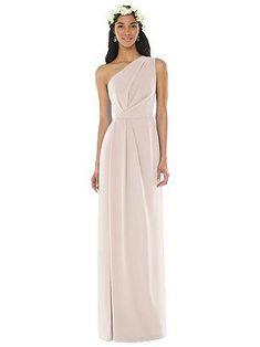 33630f78b9d43 Social Bridesmaids Style 8156 One Shoulder Bridesmaid Dresses