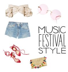 """""""Music Festival #2"""" by emy-huerta on Polyvore featuring RE/DONE, Johanna Ortiz and Karen Walker"""