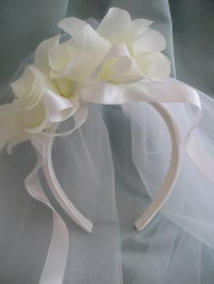 Diadema de Primera Comunión - First Communion Headband