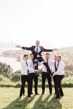 A joyful St Leonards & North Head wedding, including orchard bridal portraits and lots of petal confetti. Anna, November 2019, Bridal Portraits, Joyful, Confetti, Wedding Photography, Couple Photos, Party, Wedding Shot
