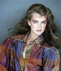 Brooke Shields by Patrick Demarchelier for Harper's Bazaar Italia, 1979.