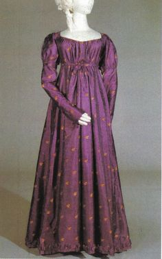 Late 1810's/Early 1820's day dress
