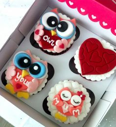 Owl Cupcakes - Mother's Day