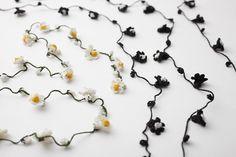 lariats with tea flowers HaaT