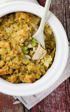 Sunday Chicken and Stuffing Bake - I love this girl's site and sense of humor - she's all about 30 minutes or less and she's hilarious, plus, the food looks fabulous. She makes her own cheese! and it's easy! I'm pinning that next.