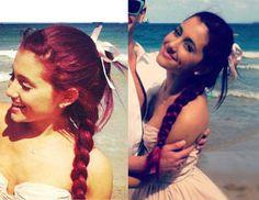 Ariana Grande Red Hair, Victorious Cat, Ariana Grande Pictures, Smile Everyday, Cat Valentine, Female Singers, Nicki Minaj, Selena Gomez, Hair Beauty