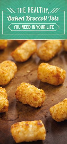 Your tots are going to love these Baked Broccoli Tots when they taste them! Get the salty, satisfying recipe here and prepare to enjoy this guiltless snack!