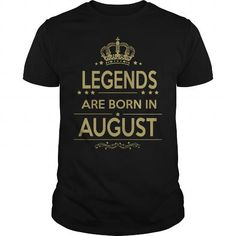 Cool  BORN  AUGUST Shirts & Tees