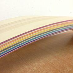 Close up of the little rainbow. Plywood, Close Up, Woodworking, Rainbow, Design, Hardwood Plywood, Rain Bow, Rainbows