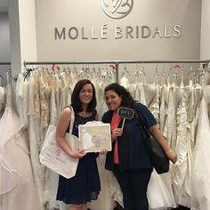 So exciting when a bride finds her dream dress!!! So excited for you Elizabeth 💕💕 Thank you for coming to Molle Bridals!! #congratulations#gorgeousbride #engaged #weddingplanner #wedding #bride #love #weddingdresses #eventplanner #weddingphotography #jupiterflorida #palmbeachgardens #stuart #portstlucie #jensenbeach #westpalmbeach #fortlauderdale #bocaraton #coralgables #miami #boyntonbeach #eventprofsuk #eventprofs #meetingplanner #meetingplanner #meetingprofs #inspiration #popular…