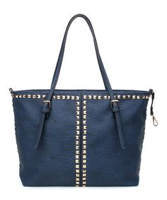 Love this Amore Blue Aleesa Tote by Amore on #zulily! #zulilyfinds