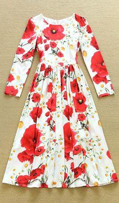 Sleeveless Floral Printed Pleated Midi Dress