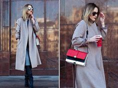 Get this look: http://lb.nu/look/5794535  More looks by Victoria Platina: http://lb.nu/user/1074845-Victoria-P  Items in this look:  Zara Coat, Zara Bag, H&M Boots   #coat #blonde #russianstyle
