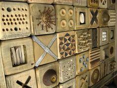 Wood quilt by Robyn Gordon