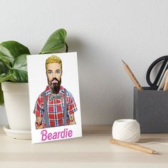Hipster Art, Ken Doll, Meaningful Gifts, Top Artists, Watercolor Paper, Art Boards, Print Design, Presentation, My Arts