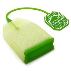 Reusable Silicone Tea Bag!! The fun of dunking without the waste