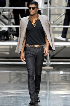 Jean Paul Gaultier Mens Fashion Retrospective  image Jean Paul Gaultier Spring 2012 Menswear