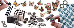 Retro extrusions   Polymer Clay Daily