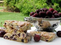 bing cherry scones recipe