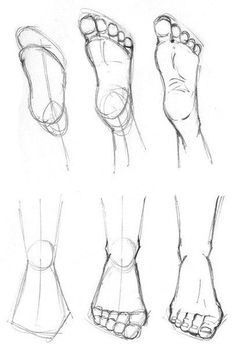 How to draw feet cuz idkHow to draw legs part Rules of geometry and body structureReference guide step by step drawing female torso.Step by Step drawing lessons easy pencil drawing lessons for beginners Pencil Art Drawings, Art Drawings Sketches, Easy Drawings, Body Sketches, How To Draw Sketches, Detailed Drawings, Drawing Lessons, Drawing Techniques, Drawing Tips