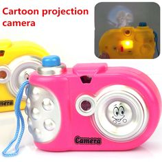 2016 New arrive Toy Cameras  10*7*3cm   Baby Study Toy Kids Projection Camera Educational Toys  for Children Kids Toys Gifts