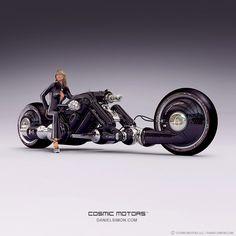 Cosmic Motors by Daniel Simon  The coolest vehicle/future hardware designs on the web!