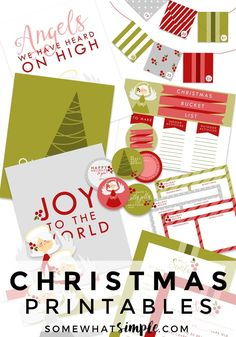 Christmas Printable Pack - Letter to Santa, Advent + More